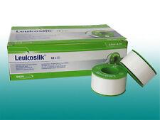 4 Rollen Leukosilk®  2,5cmx9,2m Seidenpflaster Fixierpflaster Seide PZN 04593681