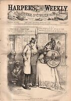 1878 Harpers Weekly February 9 Turkey loses her war; New York Rapid Transit