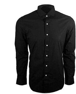 Polo Ralph Lauren Men's Classic Fit Long Sleeve Shirt (Black, Med) 710719598001