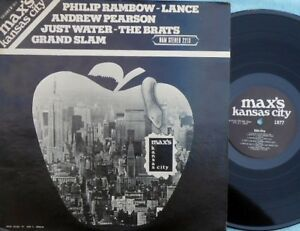 Max's Kansas City Vol. II 1977 EX '77 Philip Rambow Brats Grand Slam Lance US LP
