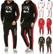 10dde8c2b42b91 NEW Mens Michael Air Legend 23 Jordan Tracksuit Hoodie   Pants Men  Sportswear