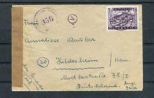 Zensurbrief Österreich 1 Schilling EF Wien-Hildesheim - b2523