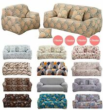 Floral Sofa Cover Slipcover Settee Stretch Couch 1/2/3/4 Seater Protector