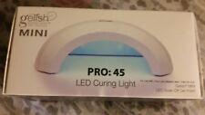 Gelish  45 Second LED Curing Gel Soak Nail Polish Salon Light Lamp 24 hr sale