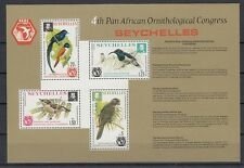 Seychelles Block 6 Birds Birds (MNH)
