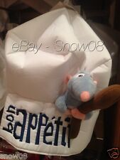 RATATOUILLE REMY CHEF HAT Bon Appetit Culinary Delights New Disney Park New Tag