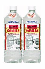 2 X Danncy Clear Pure Mexican Vanilla Extract From Mexico 33oz Each 2 ... NO TAX
