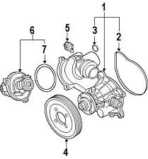 BMW 11-51-7-524-551 | COOLANT PUMP, MECHANICAL | #1 On Picture
