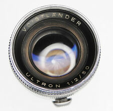 Voigtlander 50mm f2 Ultron for Prominent  #4547541