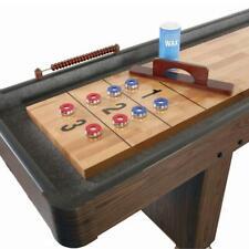 Challenger 12' Shuffleboard Table - Walnut finish