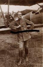 Wwi Pour-le-Merite Ace Roth Enlarged Sanke Photo Jasta Albatros