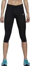 Adidas Adizero Sprintweb 3/4 капри женские беговые колготки-черный