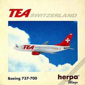 Boeing 737-700 TEA - Flugzeug 1:500 Herpa Wings 511131