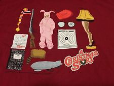 A Christmas Story Classic Movie Objects XL T Shirt Leg Lamp Bunny Suit Soap C+