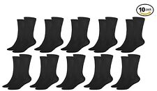 NEW 3KB Men's Dress Socks Ultra-Sheer Black Collection 10 Pack Size 7-11