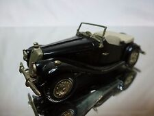 WESTERN MODELS METAL KIT (built) MG TF 1953 -  BLACK 1:43 RARE - GOOD CONDITION