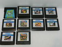 Atari 5200 Games Fun You Pick & Choose Game Good Titles Updated 3/7