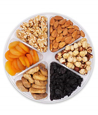 Nuts Gift Basket,Gourmet Food Healthy Fresh Gift Idea For Christmas, Fathers And