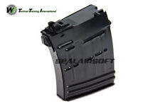 Nous 21rds Airsoft Jouet gaz magazine pour SVD ACE-VD Series GBB Noir WE-MAG-037