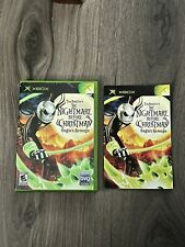 The Nightmare Before Christmas Oogie's Revenge Xbox Case + Manual Only!