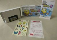 Gameboy Advance GBA Legend of Starfy 2 Nintendo Legendary box manual Japan