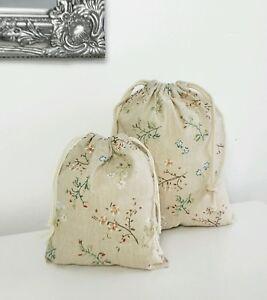 Floral Storage Bag (large) - Style My Pad