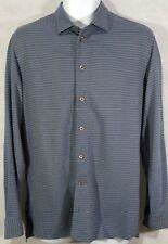 EMPORIO ARMANI Men's Long Sleeve Button-Down Casual Shirt: Medium 15 - 34/35