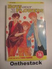 MANGA:    Boys over Flowers (Hana Yori Dango) Vol. 16 by Yoko Kamio (2006)