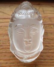 Clear Quartz Kwan Yin Carving sc887d