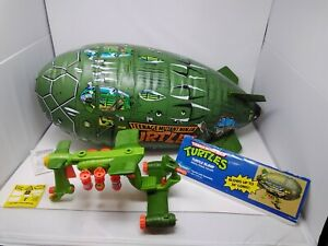PLAYMATES - TMNT - TURTLE BLIMP WACKY ATTACK AIRCRAFT - COMPLETE - INSTRUCTIONS