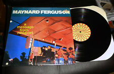 MAYNARD FERGUSON A Message from Newport Roulette NM shrink Fugue Fan It Janet