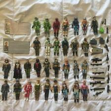 G.I. Joe Action Figure Lot + Weapons + Accessories + File cards GI Joe * NR