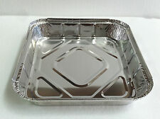 Carton 50 pcs Foil Tray For Roasting, BBQ, Baking And Serving - 25 cm x 25 cm
