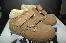 VeryRare!Pristine£45 Naturino Italy nubuck baby boys girls shoes UK4.5 21EU