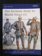 Osprey Book: The German Army in World War I (1) 1914–15 - Men at Arms 394