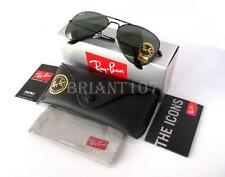 New Unisex Sunglasses Ray-Ban RB3026 L2821 Aviator Black 62mm