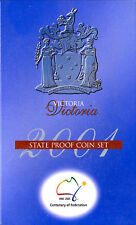 2001 Victoria  Federation Set of Proof Coins
