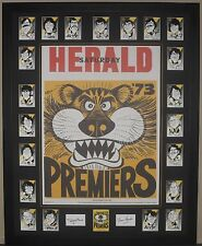 Weg Richmond 1973 Premiership Card Set
