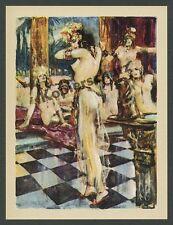 Lutz Ehrenberger Frauen Nackttanz Harem Akt nackt Erotik Kunst Orient Bagdad ´25