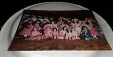 Vintage Postcard The Doll Collection House On Rock Spring Creek Wisconsin Dolls