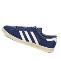 ADIDAS MENS Shoes Hamburg - Marine, White & Off White - EF5788
