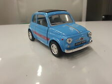 FIAT 500 kinsmart TOY model 1/24 scaleNEWdiecast Car gift