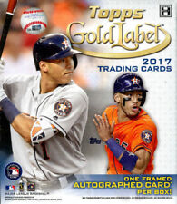 2017 Topps Gold Label Baseball - CLASS 1 - PICK YOUR CARD - COMPLETE YOUR SET