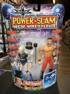 Buff Bagwell 2000 WCW Power Slam Figure Marvel Toy Biz Sealed