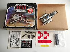 Vintage Star Wars Kenner 1983 ROTJ X-Wing fighter Battle damaged MIB/misb unused