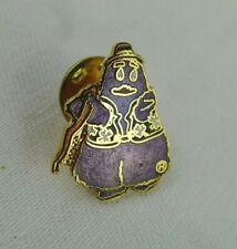 McDonald's Grimace Pin Purple Uncle O'Grimacey Cloisonne Gold Tone Rare