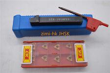 "11ER 1/4"" A60 11ERA60 10pcs + SER1010H11/F11 Lathe Threading Turning Tool Holder"