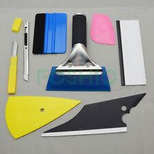 8PC Car Window Film Wrapping Tint Vinyl 3M Squeegee Scraper Applicator Tools Kit