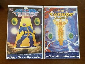 Thanos Quest Set Issues 1 & 2 (VF/NM)