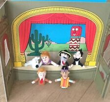 More details for tintin theatre moulinsart 35113 - 7 crystal balls rare 2002 play set & puppets